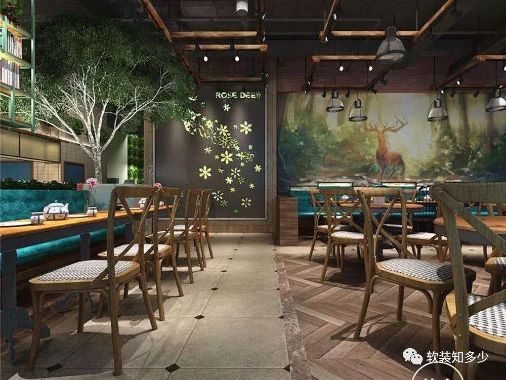 咖啡馆的装饰配色要点,一间具有特色的咖啡馆你喜欢吗