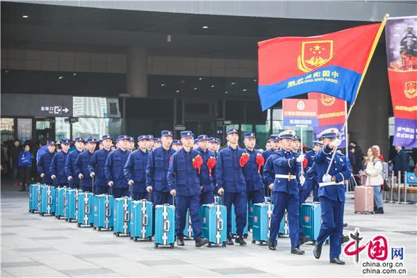 甘肃省第二批398名新招录消防员入营集训
