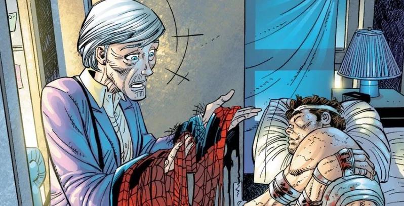 <b>蜘蛛侠的梅姨不简单,钢铁侠管家、章鱼博士都曾与其交往</b>