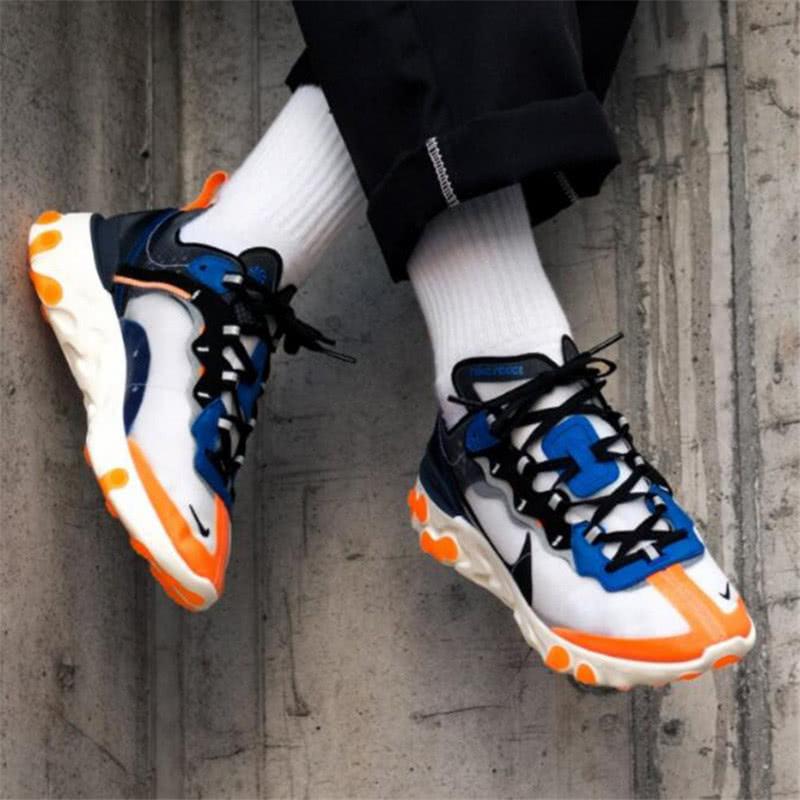 "<b>反应元素半透明前卫跑鞋 Nike Upcoming""透明网灰蓝橘""开箱</b>"