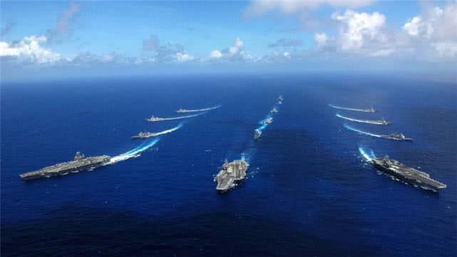 各国舰艇排水量对比,美350万吨,俄75万吨,中国呢?