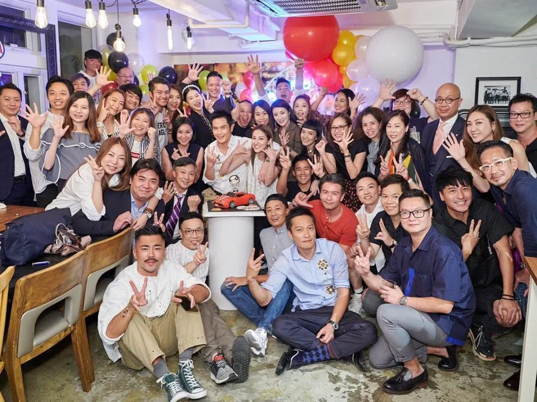 TVB当红小生孤单出席郑嘉颖生日会做电灯泡 成视帝大热人选