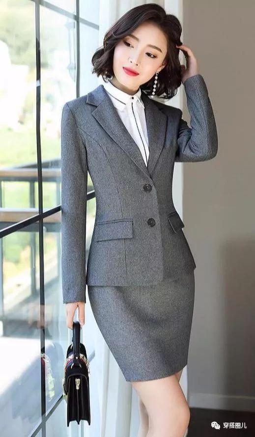 初秋怎么穿,小西装的时尚穿搭,让你轻松穿出女神范