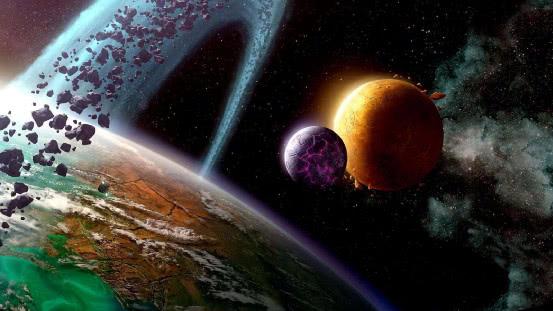 把宇宙中全部的天体压缩到一起,可以组成一颗多大的星球?