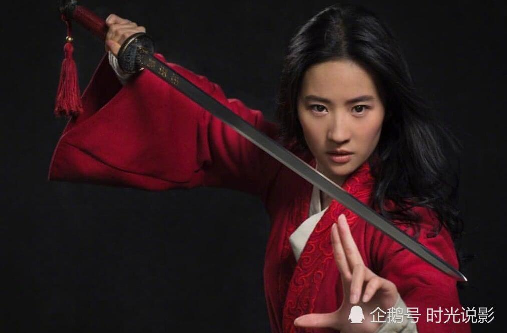 《花木兰》曝光新剧照,刘亦菲穿盔甲亮相,女扮男装完全认不出