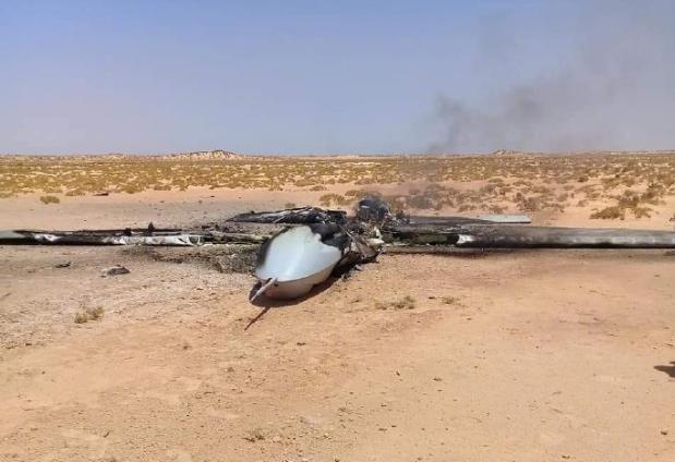 阿联酋所属中国造翼龙II无人机折戟利比亚,再次被击落!