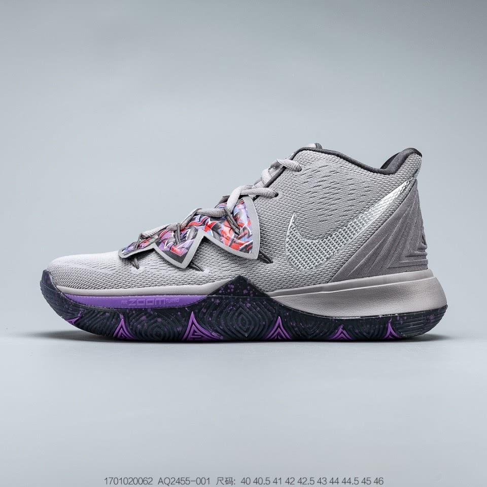 欧文5被埋没的配色!Nike Kyrie 5 灰苍蝇 急停党篮球鞋!