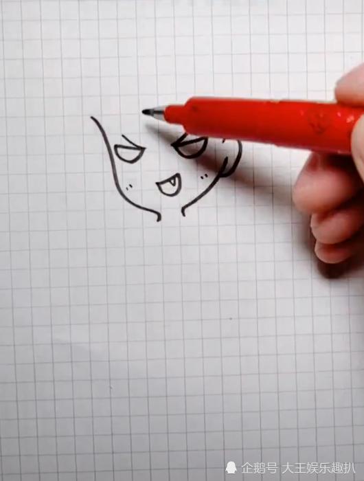 美术生画动漫人物,认出来的都是真爱的粉,网友:这虎牙太明显
