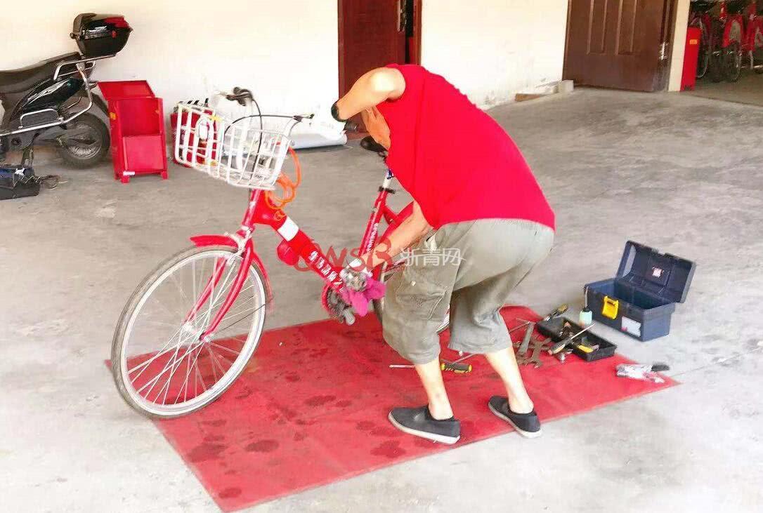 """<b>杭州""""小红车""""出现在江苏张家港,至今仍有近千辆小红车流失在外</b>"""