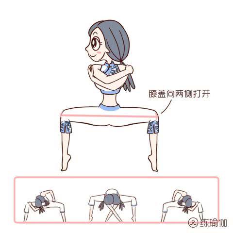 6个动作,45次,小肚子没了,颈椎肩背全舒服了