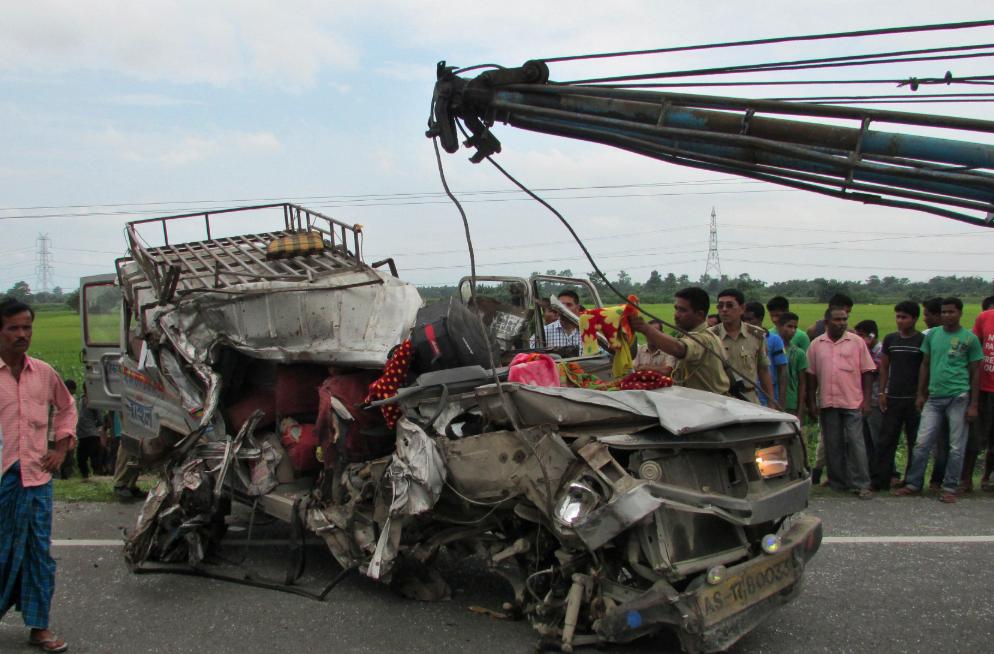 """数据看印度:印度交通事故""""猛如虎"""""""