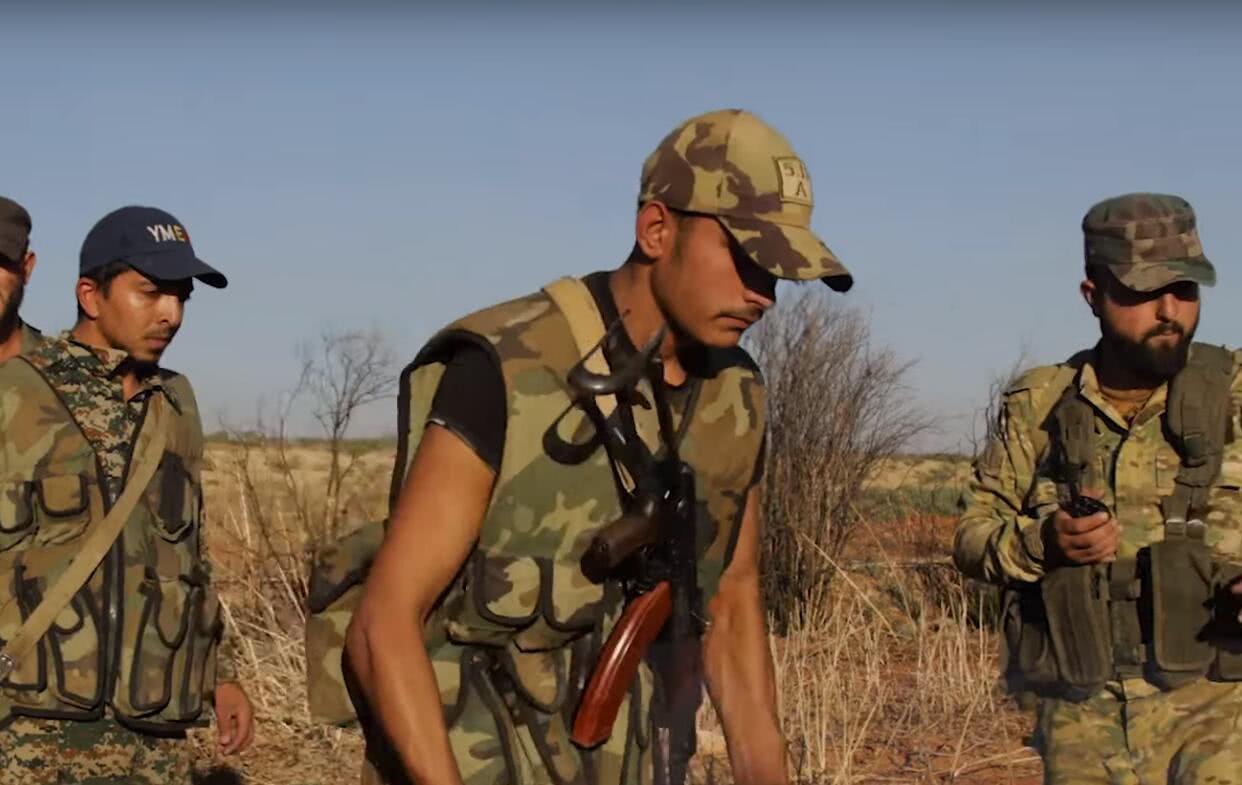 获一次重大胜利,叙利亚动用最为精锐的力量,士兵个个如老虎