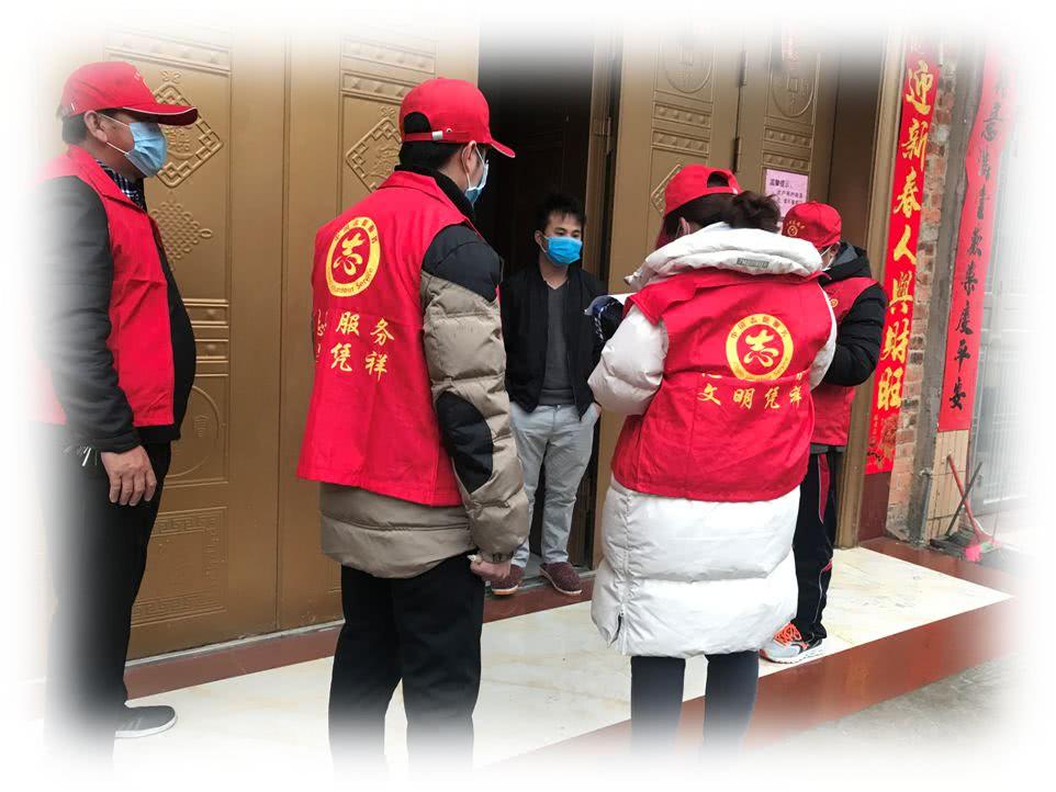抗击疫情,夏石镇新时代文明实践志愿服务队在行动