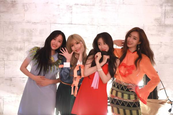 T-ara直播庆祝十周年!至于完全体回归,她们的回答竟然是?