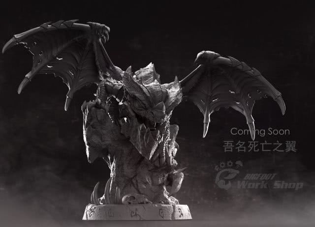 魔兽玩家设计作品:蠢萌又可爱的死亡之翼宠物手办