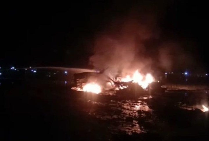 <b>印度后方又传来噩耗!一架苏30战机坠毁,巴基斯坦:这与我无关</b>