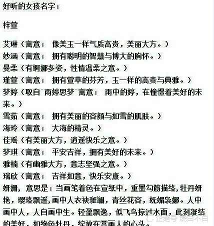 梓轩、梓涵,是谁限制了取名的想象力