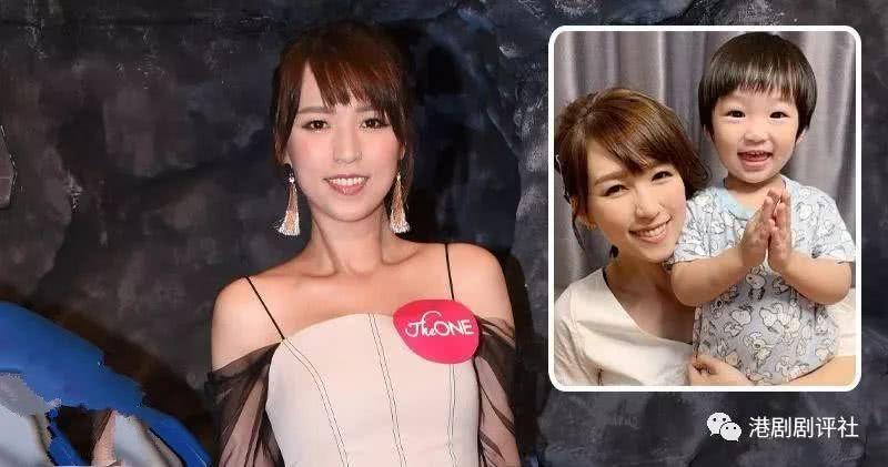 <b>TVB小花亲自送儿子上学:准备做好心理辅导</b>