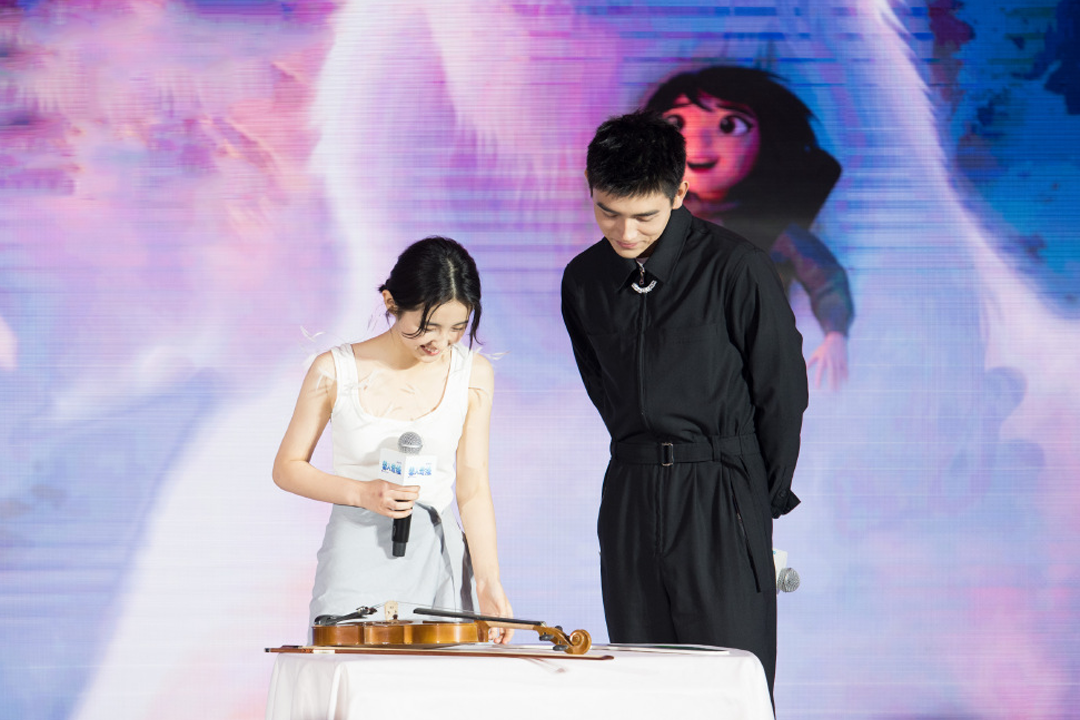 张子枫陈飞宇合作配音,互相谈及对彼此印象,期待再次搭档