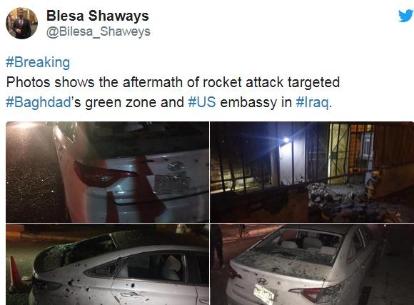 伊朗第一轮反击开始!重型火箭弹突破拦截,美军基地一片狼藉