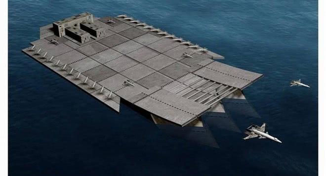 """海上""""巨无霸""""能搭载500架战机,比辽宁舰重8倍,不在俄罗斯"""