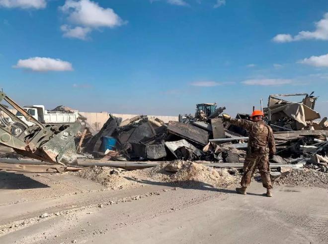 2月15日晚,美驻伊拉克大使馆突遭袭击,4枚喀秋莎发生爆炸