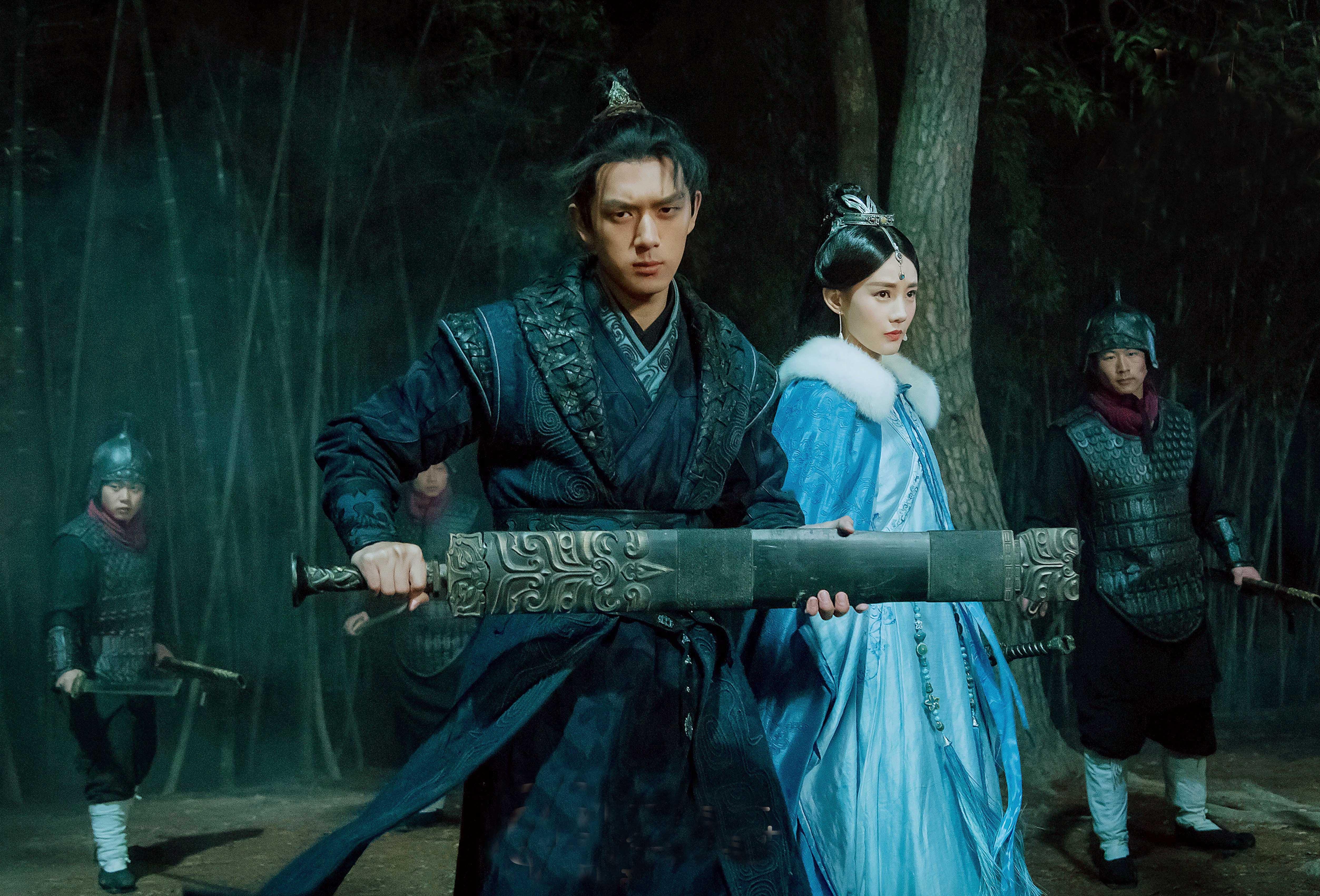 李现《剑王朝》少年出剑了,浅雪冰山美人,白胡子大师老当益壮