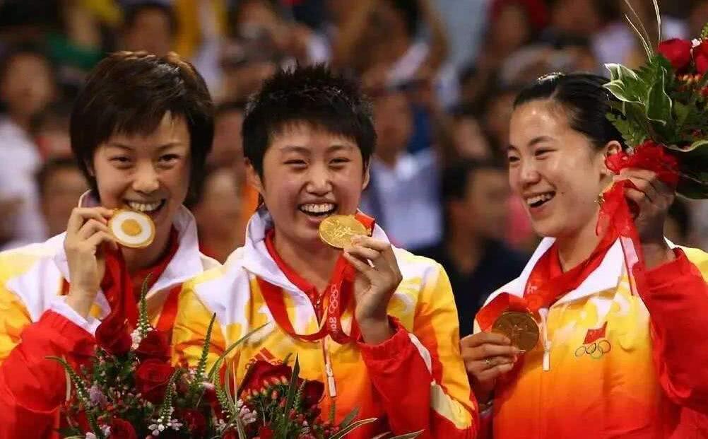 盘点奥运参赛最多国乒选手,王皓三次成就最大,马龙险些成第一人!