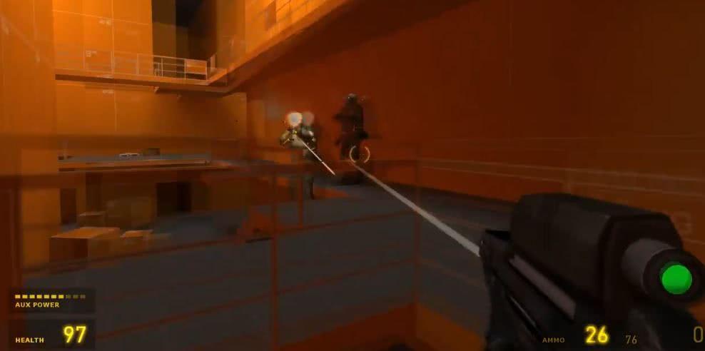 G胖要数3了?疑似V社新FPS的画面泄露,有枪有撬棍!