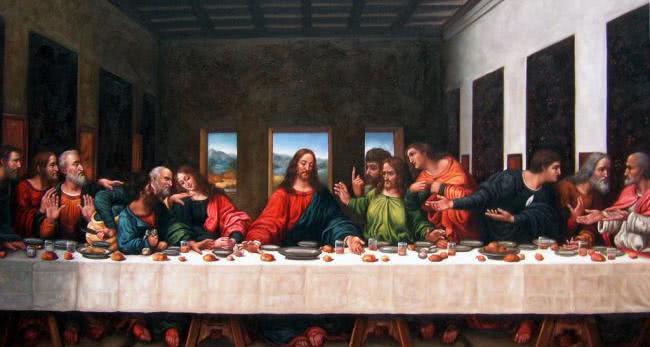 达芬奇《最后的晚餐》为何如此出名?专家:放大五十倍后就明白了