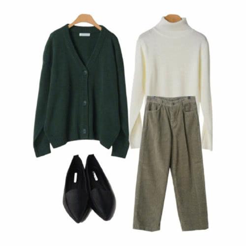 冬季显白又好看的墨绿色单品,完美的穿搭示范!