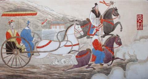 """周穆王西巡,他的""""司机""""获益最大,后代因此建立一个帝国"""