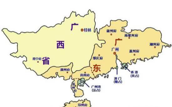 """为什么将广东广西称为""""两广"""",两广的历史由来是什么?"""