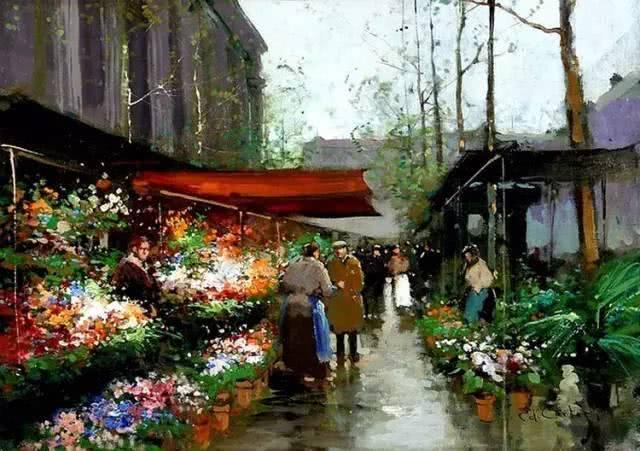 """独树一帜的法国""""街道画""""——带你去一百年前的巴黎看街景"""