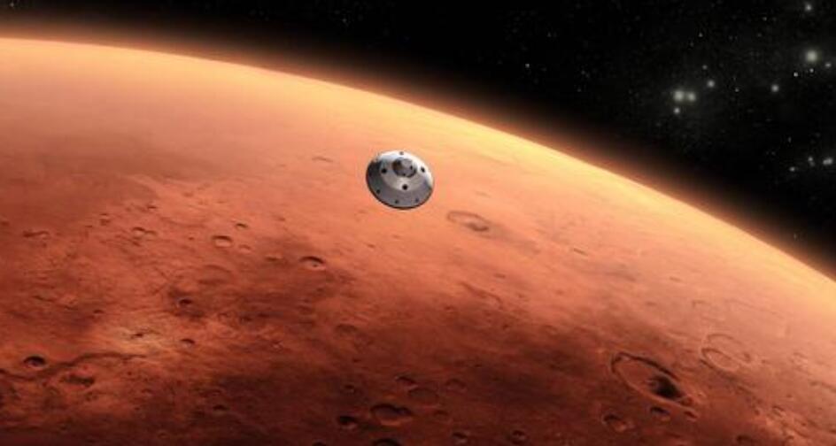 天問一號探測器成功實施火星捕捉