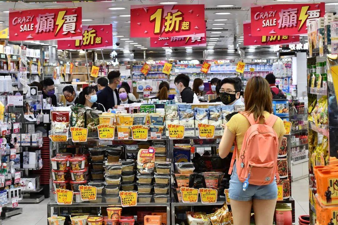 「香港大跌」【港闻】连跌一年半!香港零售业续跌,药妆好惨!