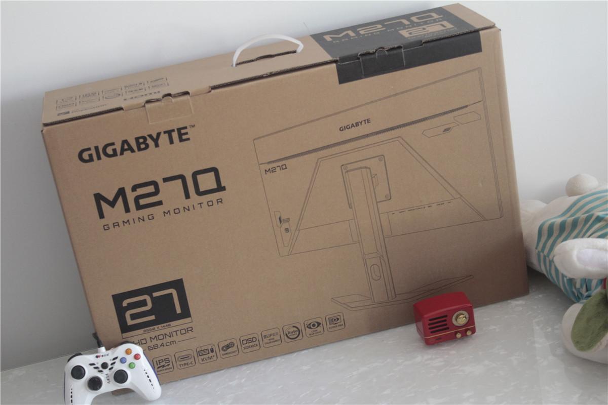「明基3206QD显示器」办公娱乐随心切换!技嘉M27Q显示器体验,老牌厂商多项技术融合