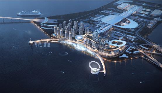 「海峡国际湾区」世茂海峡:用地标打造湾区城市引擎