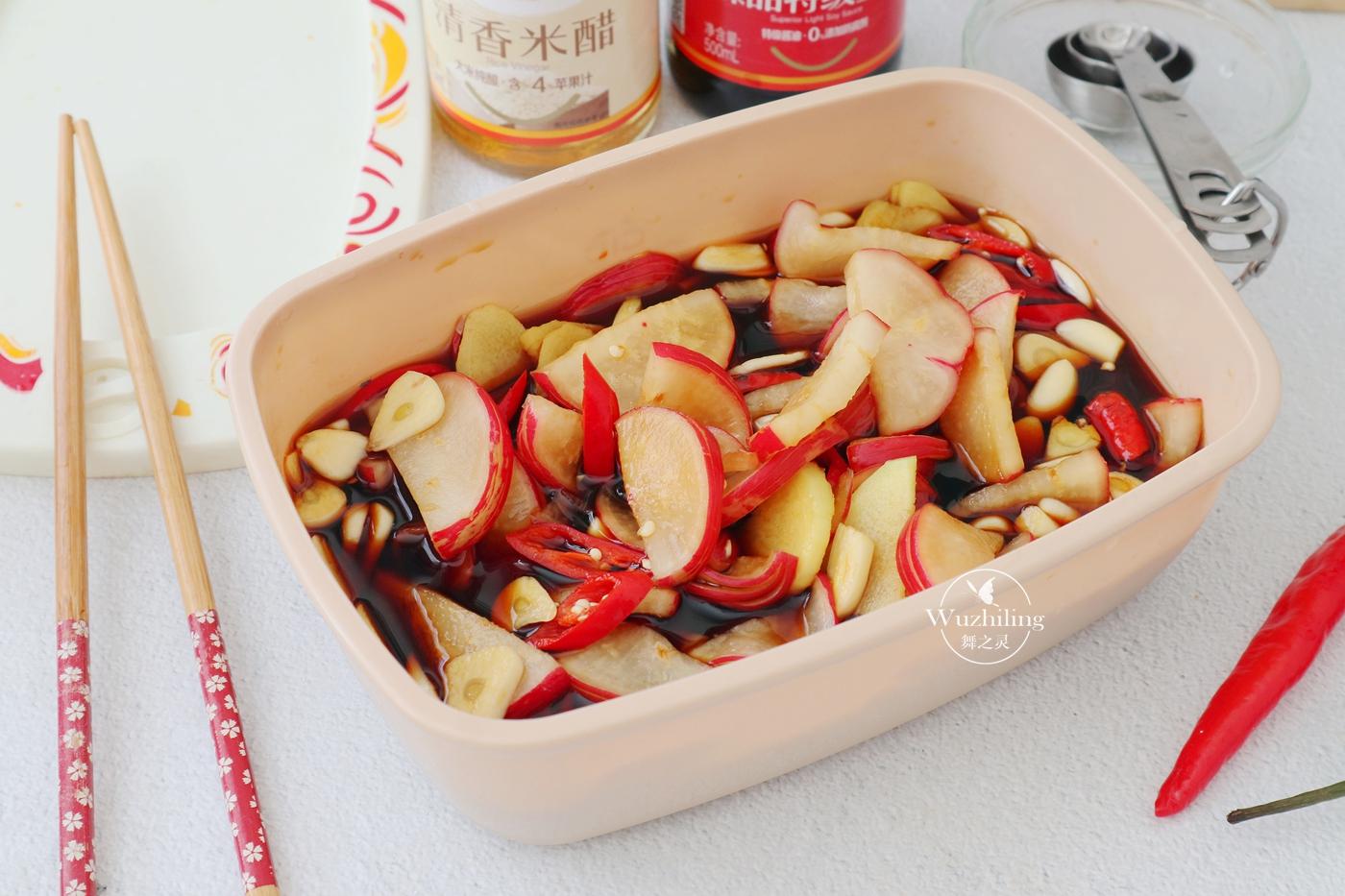 「红油的做法与配方」80岁奶奶秘制配方腌萝卜,照着做,隔天就能吃,脆爽真开胃!