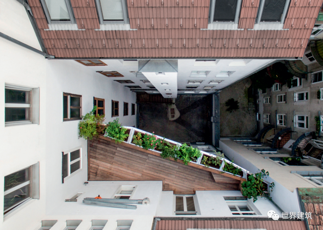 「y=x」WA丨X建筑事务所丨天空花园改建——药草园丨阳台