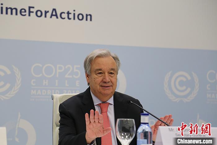 """「联合国秘书长致辞2020」""""我们的星球出现了故障"""",联合国秘书长吁保护自然"""