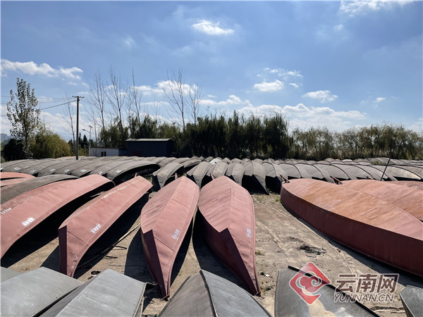 「渔船靠岸有的什么有的什么」昆明晋宁区649条渔船停船靠岸