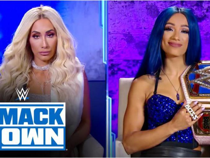 「莎夏出场」【SD1111期】莎夏和卡梅拉呛声现场 莎夏接受TLC大赛冠军挑战
