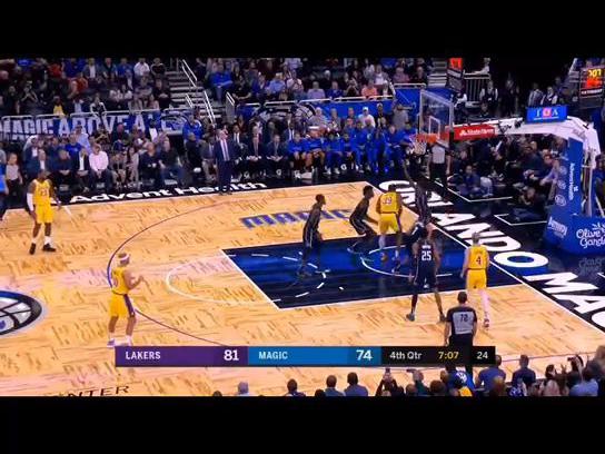 「湖人麦基」NBA经典大赏 续约湖人的杜德利,曾经1人面对魔术5人的挑衅毫无惧色,只为队友霍华德出头!#看NBA就在腾讯体育