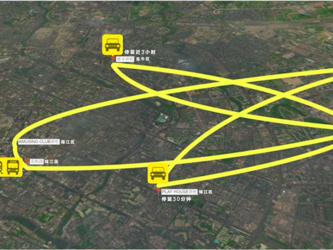 「成都到乌鲁木齐航线轨迹」90秒还原成都20岁女生确诊前7日轨迹,涉4区8地,对比看有无交集!
