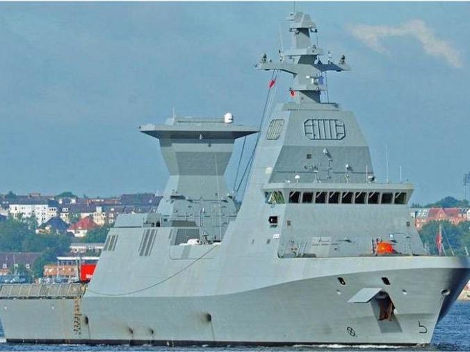 """「巴基斯坦054ap护卫舰配置」以色列海军萨尔6型护卫舰首舰""""六芒星""""号"""