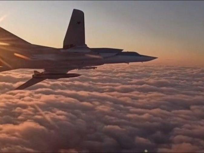 「北京飞俄罗斯航线图」俄罗斯苏-30、苏-34、图-22M飞机