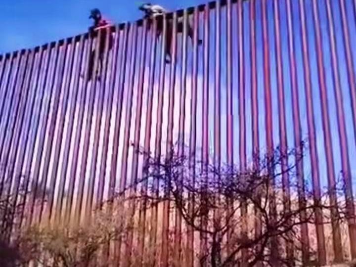 「墨隔离」美墨边境隔离墙现状