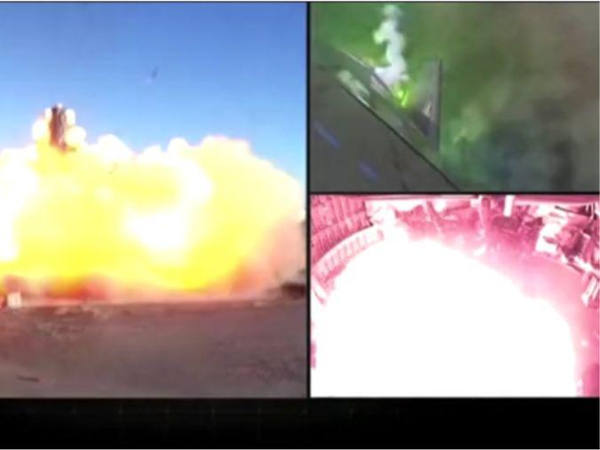 「马斯克最新火箭」SpaceX火箭着地瞬间爆炸,喷出巨大火焰,马斯克:恭喜