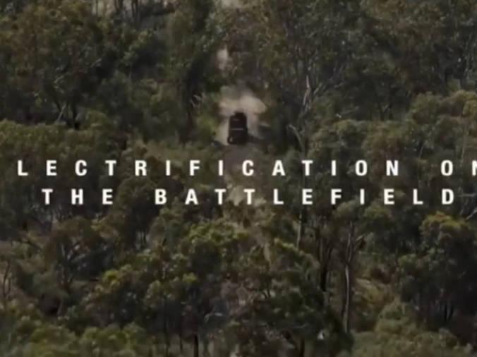 「澳大利亚陆军特种部队」澳大利亚陆军展示未来军用电力系统